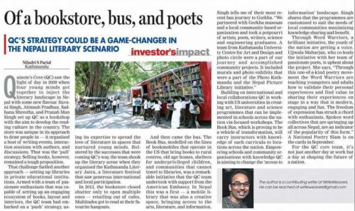 Of a Bookstore, Bus, and Poets