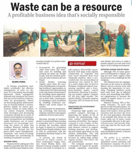Waste can be a Resource