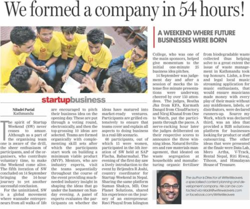 We Formed a Company in 54 Hours